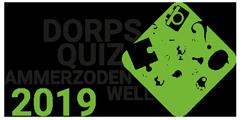 Logo 2019 - Dorpsquiz Ammerzoden Well
