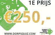 Prijzen Dorpsquiz 2019