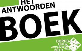Antwoordenboek Dorpsquiz 2019